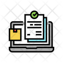Online Order Internet Order Icon
