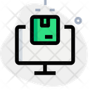 Online Package Online Delivery Delivery Icon