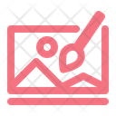 Online Painting Class Icon