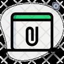 Online Paper Attach Browser Attachment Attachment Icon