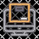 Online Parcel Icon