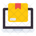 Online Parcel Online Package Online Product Icon