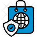Online Protection Shield Icon