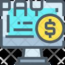Online Payment Cash Icon