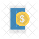 Online Pay Mobile Phone Icon