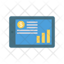 Online Pay Graph Icon