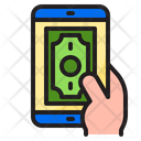 Online Pay Online Payment Smartphone Icon