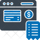Online Pay Bill Billpay Online Bill Icon