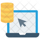 Online Payment Pointer Icon