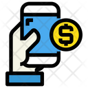 Transfer Money Cash Payment Icon