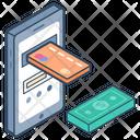 Online Payment Online Deposit Online Banking Icon