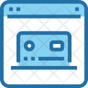 Online Payment Credit Icon