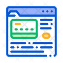 Internet Shopping Payment Icon