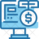 Investment Online Payment Icon