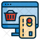 Online Payment Shopping Icon