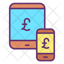 Mfinance Business Online Payment Pound Transfer Icon