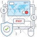 Online Payment Online Pay Digital Payment Icon