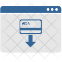Credit Card Cashout Icon