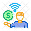 Paid Wifi Services Icon