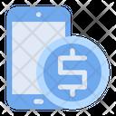 Mobile Banking Bank Icon