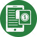 Mobile Phone Document Icon