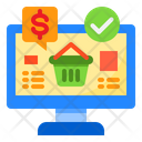 Shopping Money Busket Icon