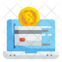 Online Payment Online Pay Transaction Icon