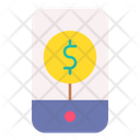 Online Payment Mobile Payment Mobile Money Icon