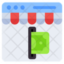 Online Payment Payment Machine Billing Machine Icon