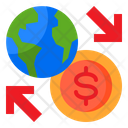 Online Payment Online Exchange Money Exchange Icon