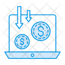 Payment Online Laptop Icon