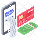 Online Payment Bill Icon