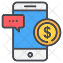 Online Payment Message Icon