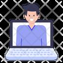 Online Person Icon