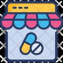 Medical Pharmacy Online Drugstore Icon