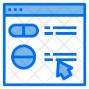 Online Pharmacy Online Order Medicine Pharmacy Icon