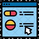 Online Pharmacy Online Order Medicine Pharmacy Website Icon