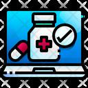 Online Pharmacy Pharmacy Healthcare Icon