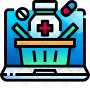 Online Pharmacy Pharmacy Medicine Icon