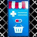 Online Pharmacy Online Medicine Shop Healthcare Icon