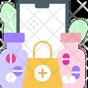 Online Pharmacy Store Icon