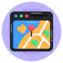 Gps Online Location Online Pin Icon