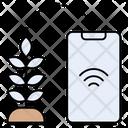 Plant Crop Online Icon