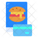 Mobile Hamburger Food Icon