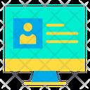 Online Portfolio Icon