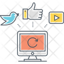 Online Presence Icon