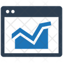 Online Presence Web Monitoring Analytics Icon