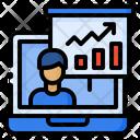 Presentation Online Video Icon