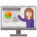 Presentation User Work Icon