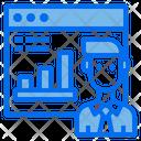 Website Online Graph Icon